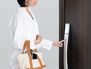 【スタッフイチ押し!最新設備 玄関ドアのエントリーシステム】